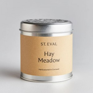 Hay Meadow Scented Tin Candle