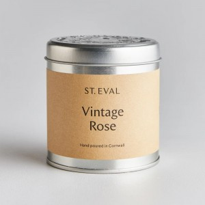 Vintage Rose Scented Tin...