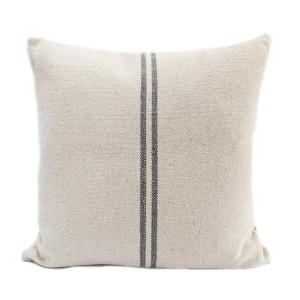 Grey Stripe Linen Hemp...