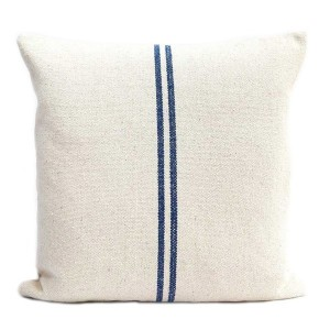 Blue Stripe Linen Hemp...