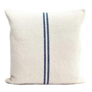 Blue Stripe Linen Hemp...