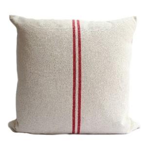 Red Stripe Linen Hemp...