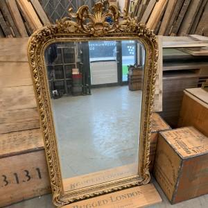 Stunning retro gilt mirror