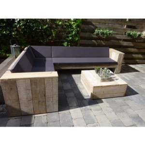 Outdoor Corner Sofa + Table...