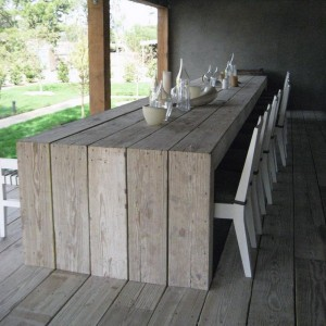 Outdoor Patio Table -...