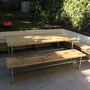 Outdoor dining tables...