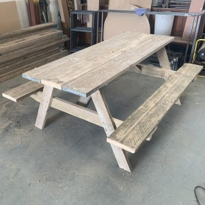 Scaffold table picnic bench