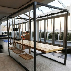 Indoor / outdoor table with...