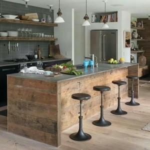 Indoor / outdoor kitchen...