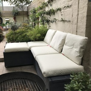 Small Outdoor Corner Sofa...
