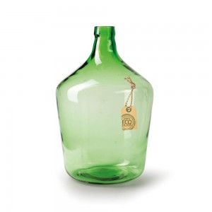 Eco Bottle Vase Green - Medium