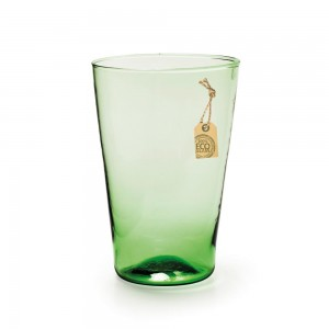 Eco Conical Vase Green