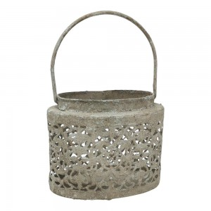 Oval Lantern Petite Fleur -...