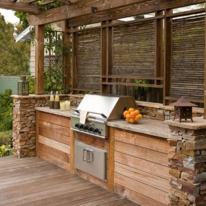 Covered Outdoor BBQ Kitchen...