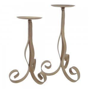 Large Scroll Candle holder...