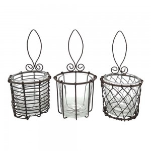 Wire Votive Vitoria - Assorted