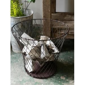 Waste paper basket rust...