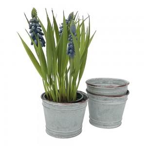 Zinc Plant Pot - Petite 7x6cm