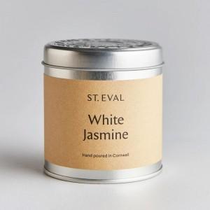 White Jasmine Scented Tin...